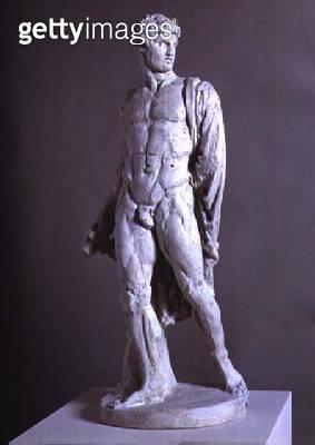 <b>Title</b> : Hector, by Antonio Canova (1757-1822), c.1808 (plaster)<br><b>Medium</b> : plaster<br><b>Location</b> : Museo Correr, Venice, Italy<br> - gettyimageskorea