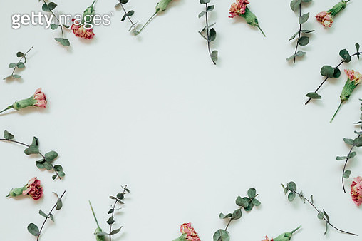 Dry flower pattern background - gettyimageskorea