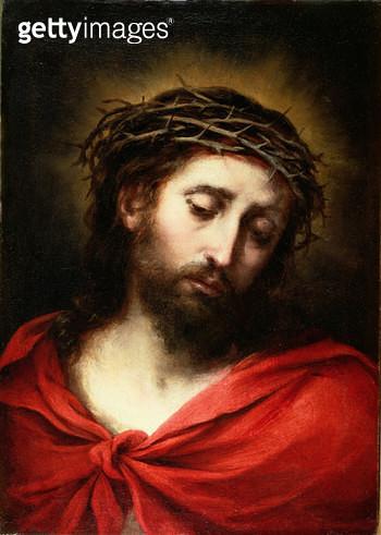 <b>Title</b> : Ecce Homo, or Suffering Christ, 1660-70<br><b>Medium</b> : oil on canvas<br><b>Location</b> : Caylus Anticuario, Madrid, Spain<br> - gettyimageskorea