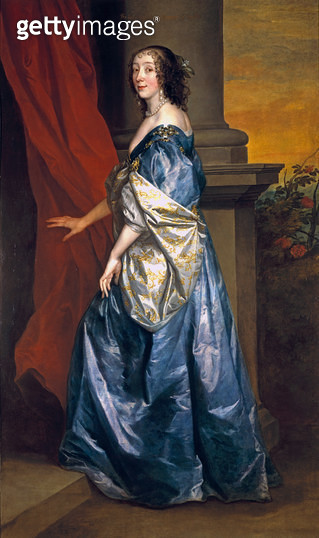 <b>Title</b> : Lucy Percy, Countess of Carlisle (1599-1660) c.1637 (oil on canvas)<br><b>Medium</b> : oil on canvas<br><b>Location</b> : Private Collection<br> - gettyimageskorea