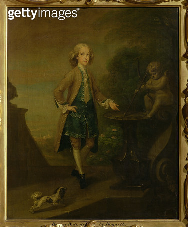 <b>Title</b> : Horace Walpole, aged 10, 1727-8<br><b>Medium</b> : oil on canvas<br><b>Location</b> : Private Collection<br> - gettyimageskorea