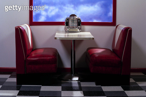Interior of a diner - gettyimageskorea