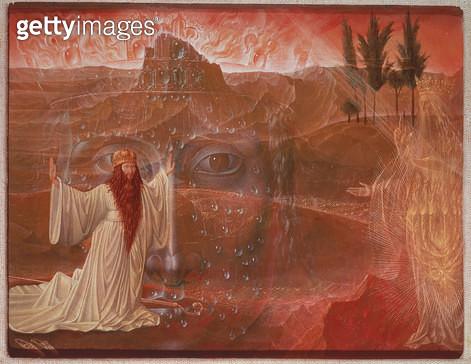 <b>Title</b> : Moses and the burning bush<br><b>Medium</b> : <br><b>Location</b> : Osterreichische Galerie Belvedere, Vienna, Austria<br> - gettyimageskorea