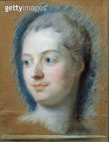 <b>Title</b> : Portrait of Madame de Pompadour (1721-64) 1752 (pastel on paper)Additional Infomistress of Louis XV: drawing;<br><b>Medium</b> : pastel on paper<br><b>Location</b> : Musee Antoine Lecuyer, Saint-Quentin, France<br> - gettyimageskorea