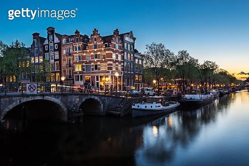 Amsterdam canal - gettyimageskorea