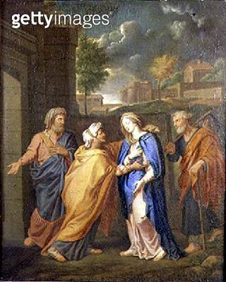 <b>Title</b> : The Virgin, St. John and St. Anne<br><b>Medium</b> : oil on canvas<br><b>Location</b> : Private Collection<br> - gettyimageskorea