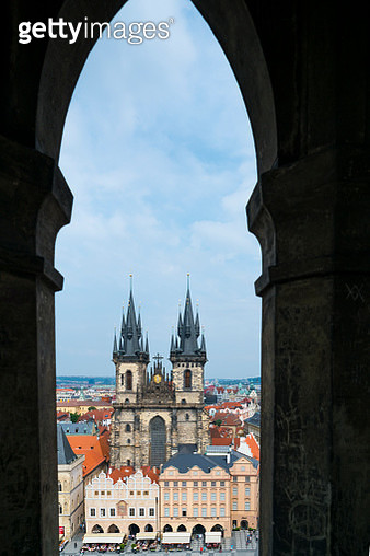 Church of Our Lady before Týn, Old Town Square, Prague, Czech Republic, Europe - gettyimageskorea