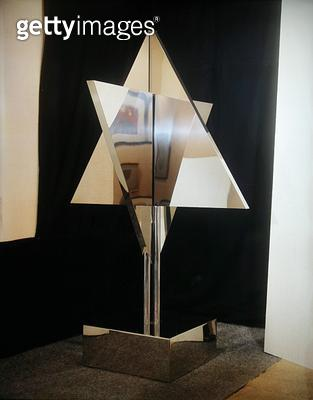 <b>Title</b> : The Love Star of David, 1972 (steel)<br><b>Medium</b> : steel<br><b>Location</b> : Private Collection<br> - gettyimageskorea