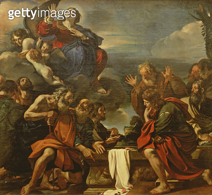 <b>Title</b> : The Assumption of the Virgin, 1623<br><b>Medium</b> : oil on canvas<br><b>Location</b> : Hermitage, St. Petersburg, Russia<br> - gettyimageskorea