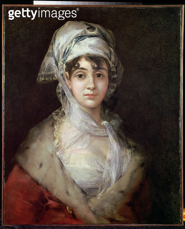 <b>Title</b> : Portrait of Antonia Zarate, 1810-11<br><b>Medium</b> : oil on canvas<br><b>Location</b> : Hermitage, St. Petersburg, Russia<br> - gettyimageskorea