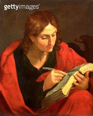 <b>Title</b> : St. John the Evangelist<br><b>Medium</b> : oil on canvas<br><b>Location</b> : Private Collection<br> - gettyimageskorea