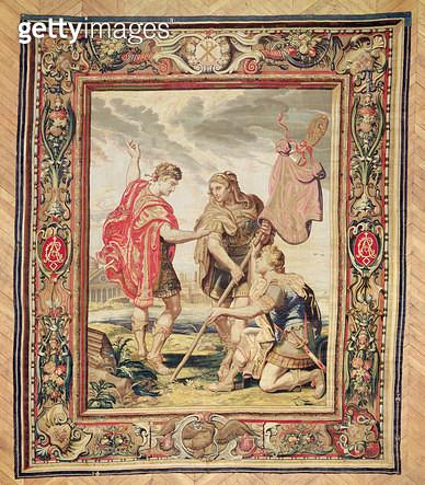 The Labarum/ before 1663 (tapestry) - gettyimageskorea