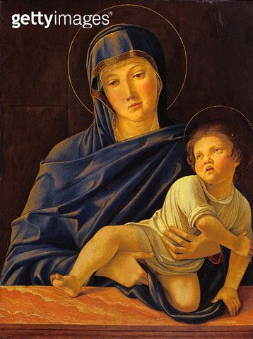 <b>Title</b> : Virgin and Child (oil on panel)<br><b>Medium</b> : oil on panel<br><b>Location</b> : Museo dell'Accademia dei Concordi, Rovigo, Italy<br> - gettyimageskorea