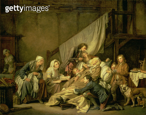 <b>Title</b> : The Paralytic, 1763 (oil on canvas)<br><b>Medium</b> : oil on canvas<br><b>Location</b> : Hermitage, St. Petersburg, Russia<br> - gettyimageskorea