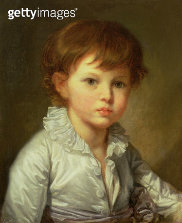 <b>Title</b> : Portrait of Count Stroganov as a Child, 1778 (oil on canvas)<br><b>Medium</b> : oil on canvas<br><b>Location</b> : Hermitage, St. Petersburg, Russia<br> - gettyimageskorea