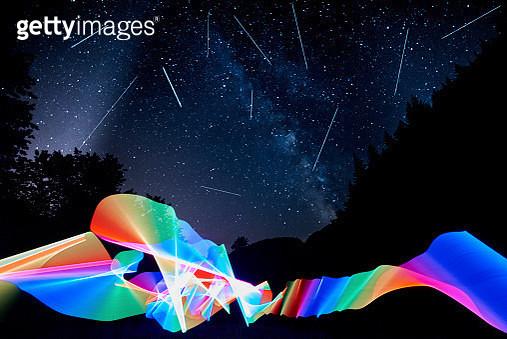 falling stars - gettyimageskorea