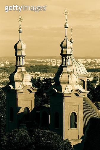 Towers of Prague - gettyimageskorea