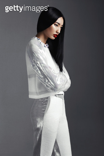 Fashionable Asian woman - gettyimageskorea