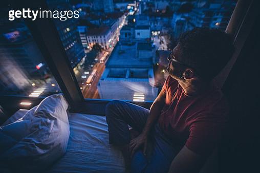 Looking Through Window - gettyimageskorea