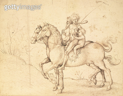 <b>Title</b> : View of the Roman Campagna, early 1640s (brush and brown wash over black chalk)<br><b>Medium</b> : brush and brown wash over black chalk<br><b>Location</b> : Hermitage, St. Petersburg, Russia<br> - gettyimageskorea