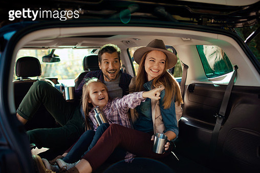 Family Road Trip - gettyimageskorea
