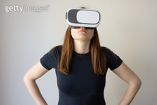 People Using Virtual Reality - Brief - gettyimageskorea