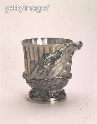 <b>Title</b> : Silver wine cooler, by Thomas Germain (1673-1748), Paris, 1731-2<br><b>Medium</b> : silver<br><b>Location</b> : Hermitage, St. Petersburg, Russia<br> - gettyimageskorea