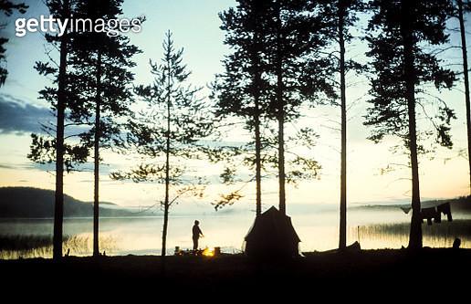 Camping - gettyimageskorea