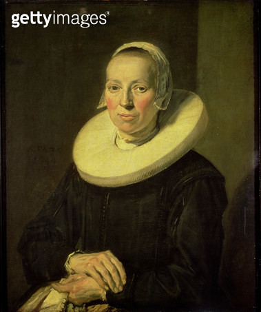 <b>Title</b> : Portrait of a woman, 1644<br><b>Medium</b> : oil on canvas<br><b>Location</b> : Michaelis Collection, Cape Town, South Africa<br> - gettyimageskorea