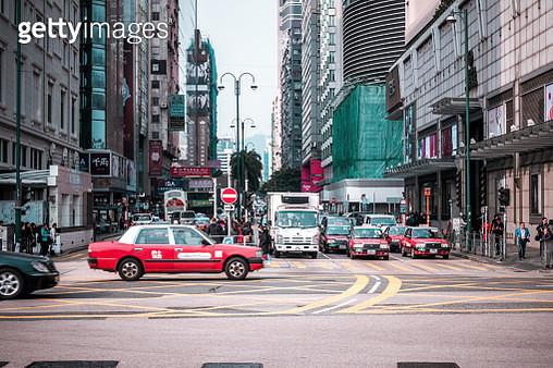 Tsim Sha Tsui in hong kong - gettyimageskorea