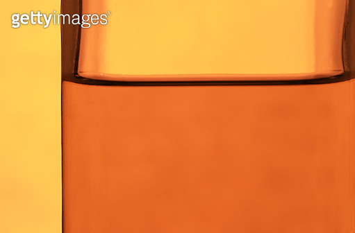 Close-up of Olive oil in a bottle - gettyimageskorea
