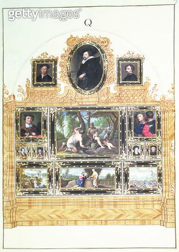 <b>Title</b> : Book I f.Q Painted Inventory of Emperor Charles VI's Collection in the Stallburg, Vienna, 1720-30 (w/c)Additional InfoAnthony Va<br><b>Medium</b> : watercolour<br><b>Location</b> : Kunsthistorisches Museum, Vienna, Austria<br> - gettyimageskorea