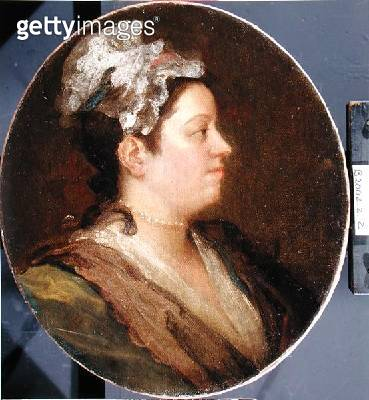 <b>Title</b> : Mary Hogarth (1699-1741), c.1740 (oil on canvas) (pre-conversation) (see 174877)<br><b>Medium</b> : oil on canvas<br><b>Location</b> : <br> - gettyimageskorea