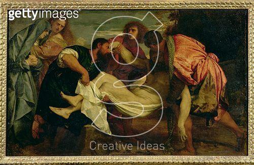 <b>Title</b> : The Entombment of Christ (oil on canvas)<br><b>Medium</b> : oil on canvas<br><b>Location</b> : Louvre, Paris, France<br> - gettyimageskorea