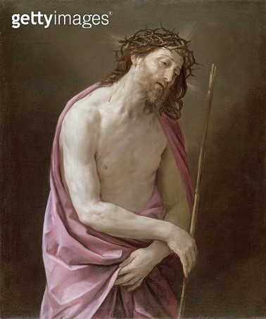 <b>Title</b> : The Man of Sorrows, c.1639 (oil on canvas)Additional InfoEcce Homo;<br><b>Medium</b> : oil on canvas<br><b>Location</b> : Fitzwilliam Museum, University of Cambridge, UK<br> - gettyimageskorea