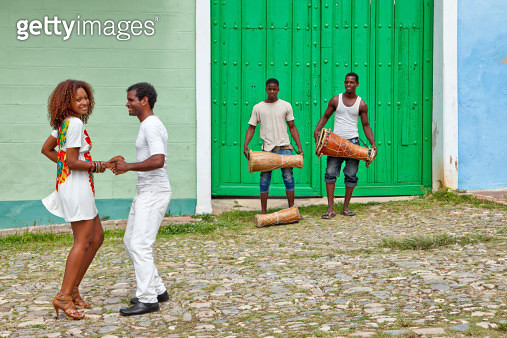 Salsa in Cuba - gettyimageskorea
