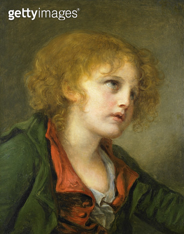 <b>Title</b> : Portrait of a young boy (oil on canvas)<br><b>Medium</b> : oil on canvas<br><b>Location</b> : Private Collection<br> - gettyimageskorea