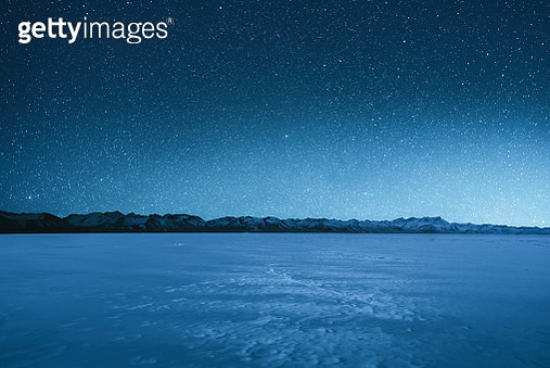 The magnificent starry sky at an altitude of 5000 meters - gettyimageskorea