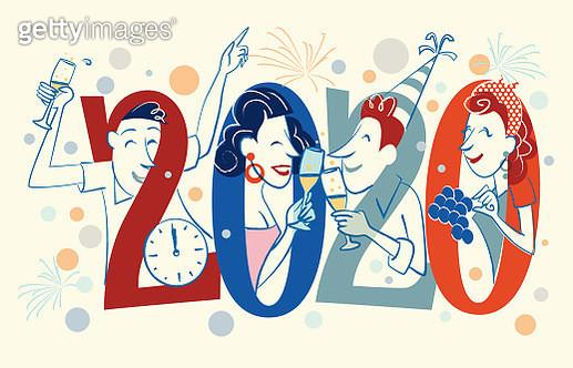 New Year 20´s - gettyimageskorea