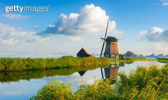 Dutch Windmill - gettyimageskorea