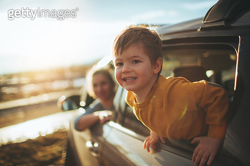 On the road trip - gettyimageskorea