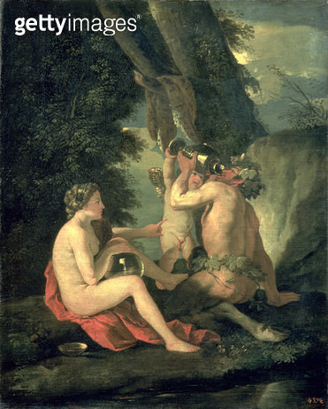 <b>Title</b> : Satyr and Nymph, 1630<br><b>Medium</b> : oil on canvs<br><b>Location</b> : Pushkin Museum, Moscow, Russia<br> - gettyimageskorea