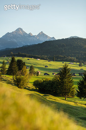 Bayerische Alpen - Mittenwald and Isar - gettyimageskorea