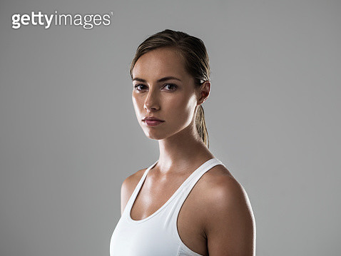 Serious about getting fit - gettyimageskorea