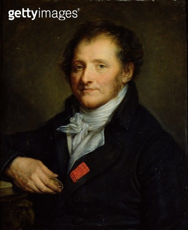 <b>Title</b> : Baron Dominique Vivant Denon (1745-1825) (oil on canvas)<br><b>Medium</b> : oil on canvas<br><b>Location</b> : Musee d'Art Thomas Henry, Cherbourg, France<br> - gettyimageskorea