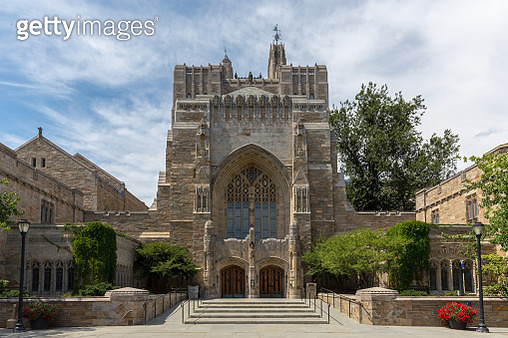 The Sterling Memorial Library at Yale University - gettyimageskorea
