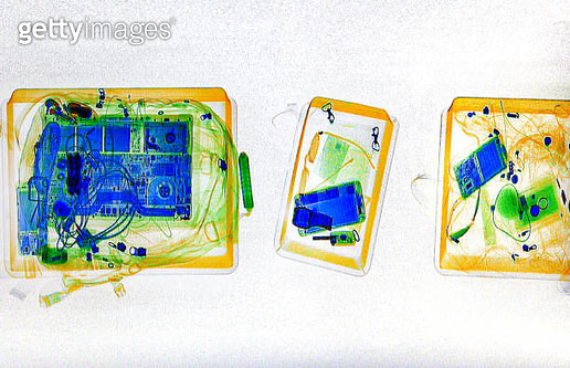 X-ray baggage - gettyimageskorea