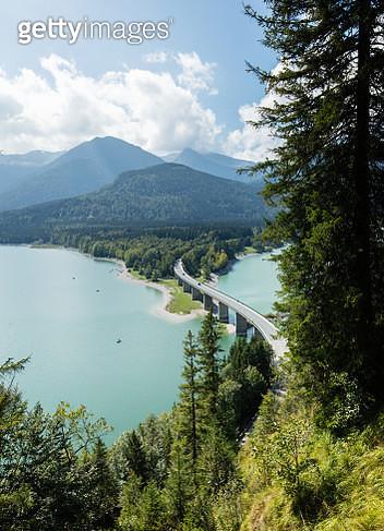 Bayerische Alpen - Sylvensteinsee - gettyimageskorea