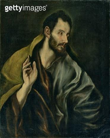 <b>Title</b> : The Apostle Thomas<br><b>Medium</b> : oil on canvas<br><b>Location</b> : Johannesburg Art Gallery, South Africa<br> - gettyimageskorea