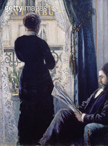 <b>Title</b> : Interior, Woman at the Window, 1880 (oil on canvas)Additional InfoInterieur, femme a la fenetre; watching the world go by;<br><b>Medium</b> : oil on canvas<br><b>Location</b> : Private Collection<br> - gettyimageskorea